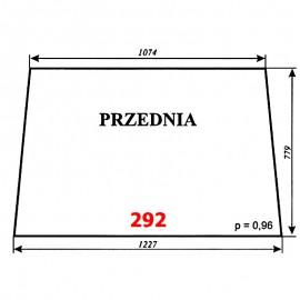 Szyba przednia T25 A2 (C-330), kabina Ciechanów