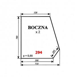 Szyba boczna T25 A2 (C-330), kabina Ciechanów