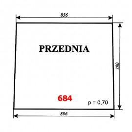 Szyba przednia T25, kabina Zbigniew Szyszka (Koźmin)
