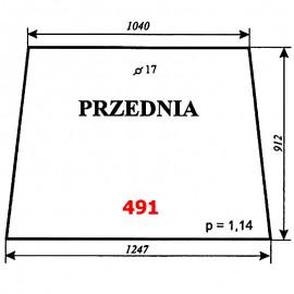 Szyba przednia T25 A2 kabina Sokółka