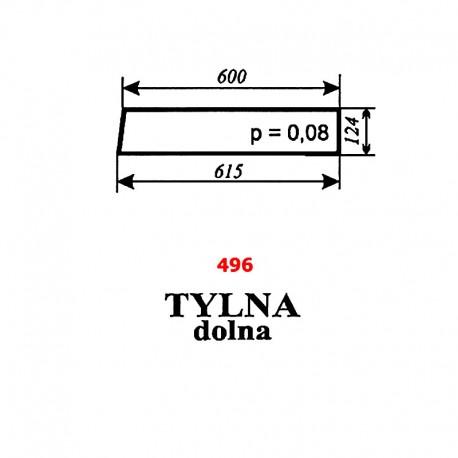 Szyba tylna dolna T25 A2 kabina Sokółka