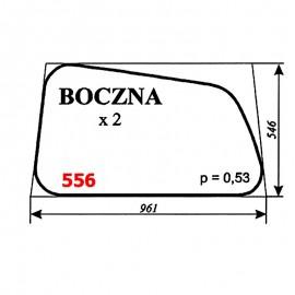 Szyba boczna koparki WARYŃSKI 420-109-00, 420, 622