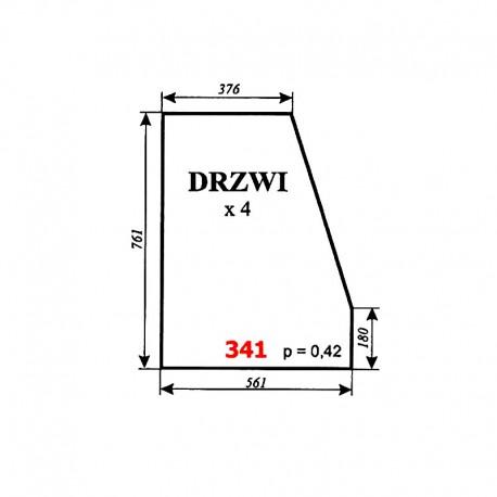 Szyba drzwi wózka widłowego DV 1792