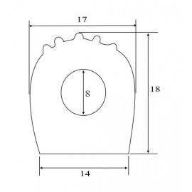Sznur z gumy porowatej, typ SP-140