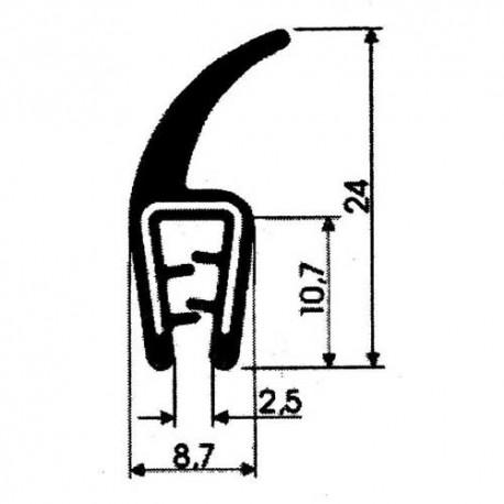 Osłona dwuskładnikowa na krawędź blachy, typ T-49