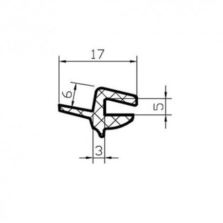 Uszczelka szyby czołowej lub tylnej, Audi A4 / A6