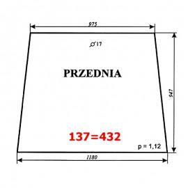 Szyba przednia C-330 kabina polska (POM Smolniki)