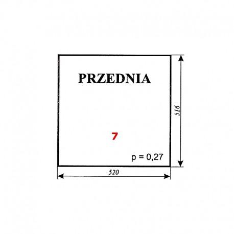 """Szyba przednia C-360 kabina Kunów (""""blaszanka"""", """"czterdziestka"""")"""
