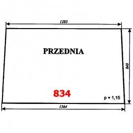Szyba przednia Zetor 6945 (prod. 1977-80)