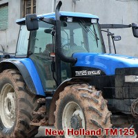 NEW HOLLAND seria TM 115, 120, 125, 130, 135, 140, 150, 155, 165, 175, 190