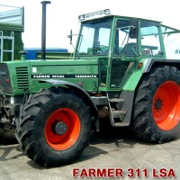 FENDT FARMER 307, 309, 311 LSA Turbomatic (1985)