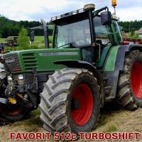 FENDT FAVORIT 509C, 510C, 511C, 512C, 514C, 515C Turboshift
