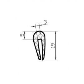 Osłona krawędzi blachy 3-4 mm